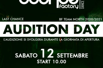 Bounce Factory North – Audition DAY